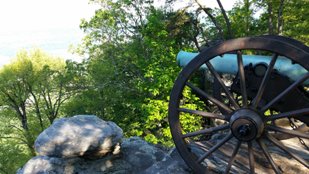 Chattanooga Lookout Mtn. cannon